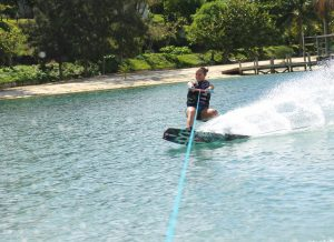 Jess Wakeboarding Never Winter Resort Roatan, Honduras